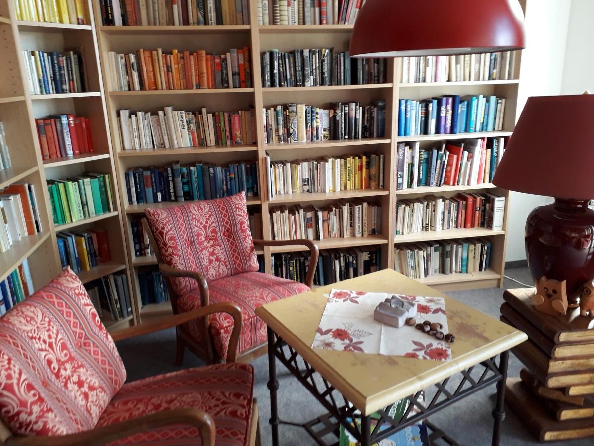 Urlaub: Das 1. Bücherhotel Deutschlands